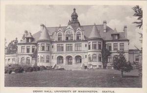 Washington Seattle Denny Hall University Of Washington Albertype