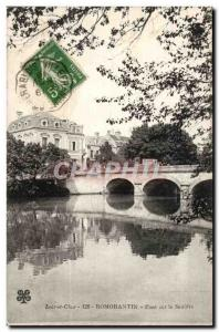 Romorantin Postcard Old Bridge SAULDRE