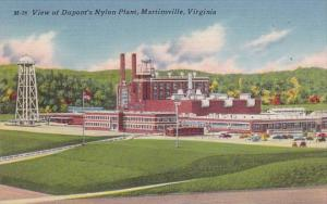Martinsville View Of Duponts Nylon Plant Virginia