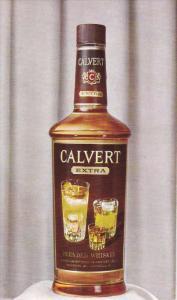 AD: Calvert Extra , Blended Whisky , 50-60s