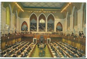 Ottawa, Canada, Parliament Hill, House of Commons, unused Postcard