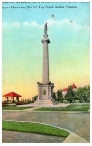 Canada  Quebec Brave's Monument
