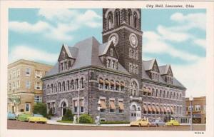 Ohio Lancaster City Hall Curteich
