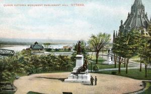 Canada - Ontario, Ottawa. Queen Victoria Monument