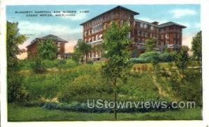 Blodgett Hospital and Nurses' Home Grand Rapids MI 1936