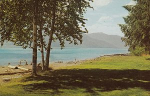 KOOTENAY LAKE , British Columbia ,1950-60s ; Rainbow Park Resort