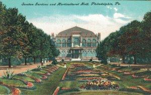 USA Sunken Gardens and Horticultural Hall Philadelphia 04.30