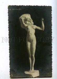 188106 NYMPH Sylphide by RAPHAEL KIRCHNER old ART NOUVEAU Tuck