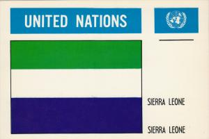 United Nations , SIERRA LEONE , 50-60s