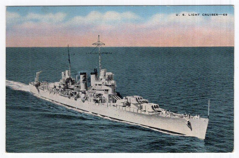 U. S. Light Cruiser