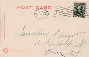 WILLIAMSPORT, Pennsylvania, PU-1906; Post Office