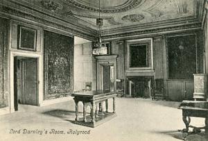 Scotland, Holyrood Palace, Lord Darnley's Room