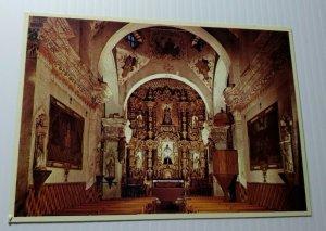Vintage Postcard San Xavier Del Bac Mission Tucson Arizona White Dove of Desert