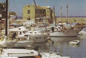 Girne (Kyrenia) Limani , Kıbrıs (Cyprus) , 60-70s : Harbour #4