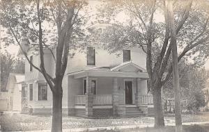 D55/ Aurora Nebraska Ne Real Photo RPPC Postcard c1910 J.W. Marvel Home