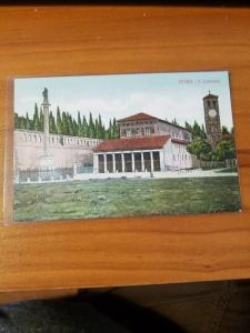 Antique Postcard entitled, Roma - S. Lorenzo  Unposted