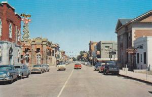 East on Second Street , MEDICINE HAT , Alberta , Canada , 50-60s