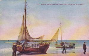 Duth Fishing Boats near Scheveningen, South Holland, Netherlands, 00-10s