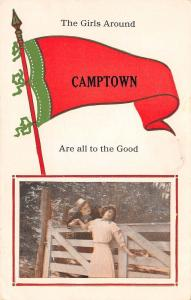 The Girls Around Camptown Pennsylvania~Are All to the Good~1914 Pennant PC