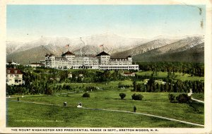 NH - Bretton Woods. The Mount Washington Hotel