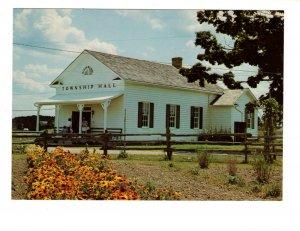 Township Hall, Doon Pioneer Village, Kitchener, Ontario,