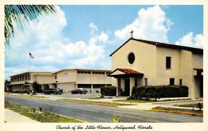 Hollywood Florida~Church of the Little Flower~Catholic Grade School~1955 Cars