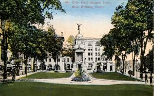 CT - New Britain. City Hall Square Park