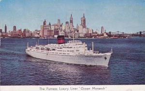 Furness Luxury Liner Ocean Monarch, PU-1963