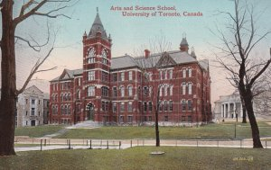 TORONTO, Ontario, Canada, 1900-1910s; Arts And Science School, University Of ...
