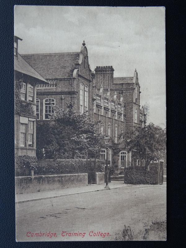 Cambridge TRAINING COLLEGE c1914 Postcard by Frith 61480b
