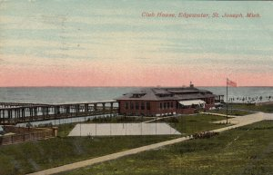 ST JOSEPH , Michigan, 1913 ; Club house , Edgewater