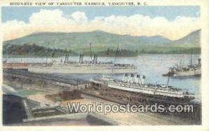 British Columbia, Canada Vancouver Harbour Vancouver  Vancouver Harbour