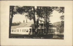 Tyson VT Echo Lake Hotel c1910 Real Photo Postcard