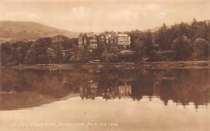 Cumbria Langdale Chase Hotel, Windermere, from the Lake