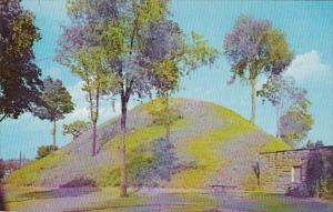 West Virginia Moundsville The Grave Creek Mound Indian Graves