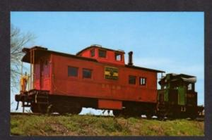 NJ Black River Railroad Train FLEMINGTON RINGOES NEW JERSEY