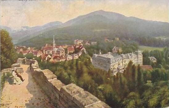 Germany Badenweiler Beruemtes Thermalbad