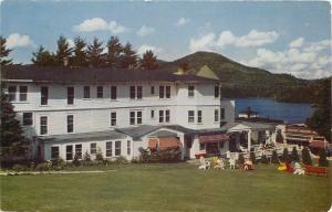 Lake Placid New York~Homestead Colonial Inn~Resort Hotel~1950s
