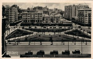 Africa Plein Square Johannesburg RPPC 05.94