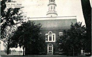 Dover DE Old State House Building Postcard unused (16431)