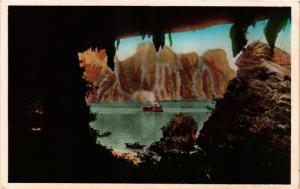 CPA VIETNAM Baie d'ALONG - Échappée de la Grotte de la Surprise0 (301239)