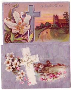 2 - Easter Cards with Crosses