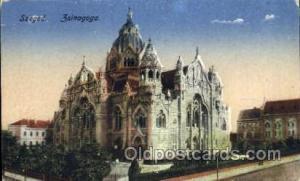 Szeged Sinagoga Judaic, Judaica Postcard Postcards  Szeged Sinagoga