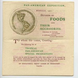 Pan-American Expo Buffalo Official Booklet Souvenir