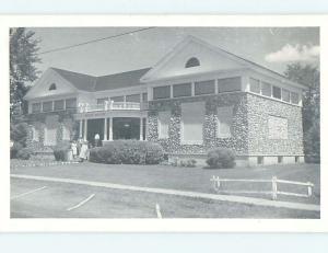 Unused Pre-1980 MUSEUM SCENE Warren New Hampshire NH hs9863