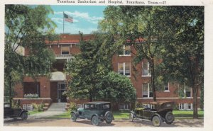 TEXARKANA , Texas , 1910s ; Sanitarium