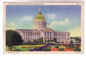 City Hall, Civic Center, San Francisco, California,