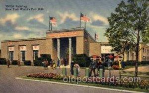 YMCA Building New York Worlds Fair 1939 Exhibition Unused