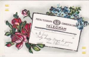 Happy Days Postal Telegram Postcard