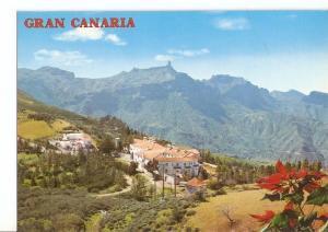 Postal 029660 : Islas Canarias Tejeda (Gran Canaria) Parador Nacional. Al fon...